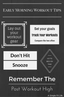 Early Morning Workout Tips